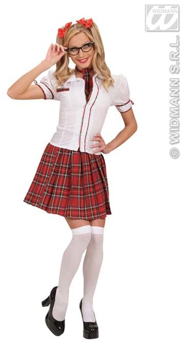 Kostüm - Schulmädchen Größe S