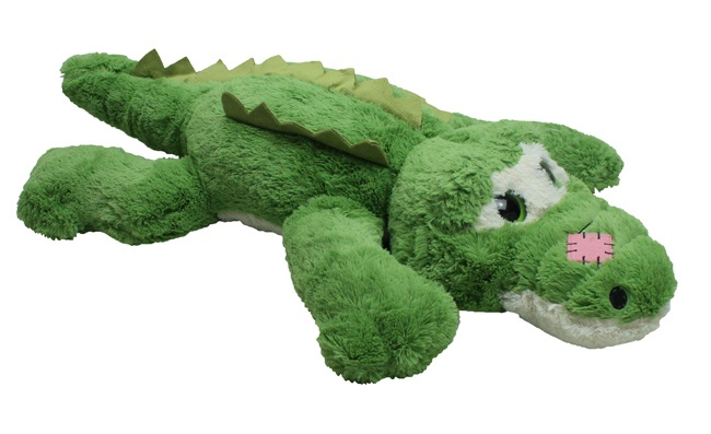 Krokodil superkuschelig liegend ca 75cm