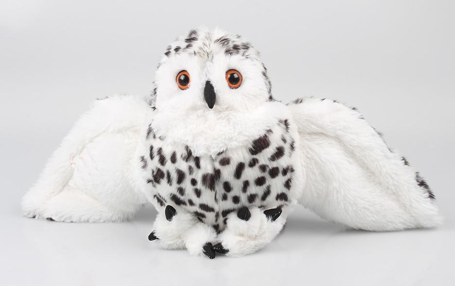 Schnee-Eule Spannweite ca 60cm