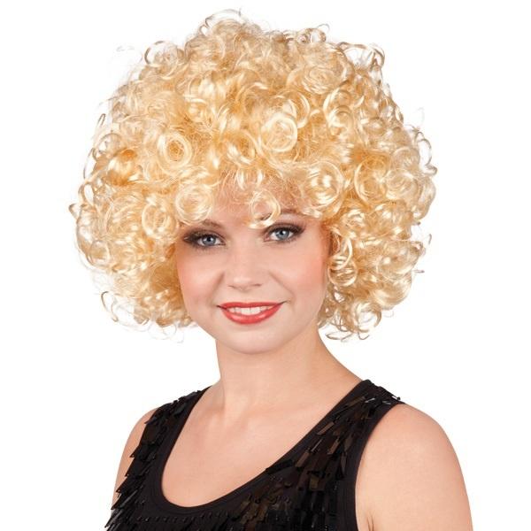 Perücke - Candice Lockenfrisur kurz blond