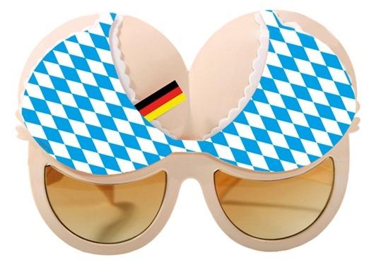 Brille - Oktoberfest -Brust- breit ca 16,5cm