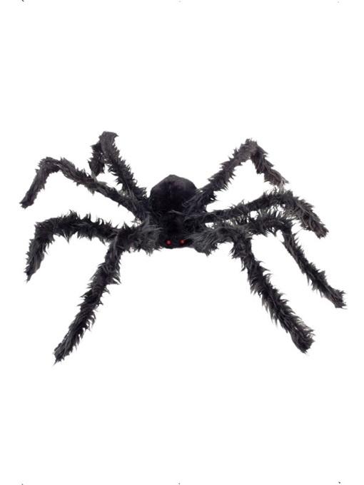 Spinne haarig mit Leuchtaugen - ca 102cm