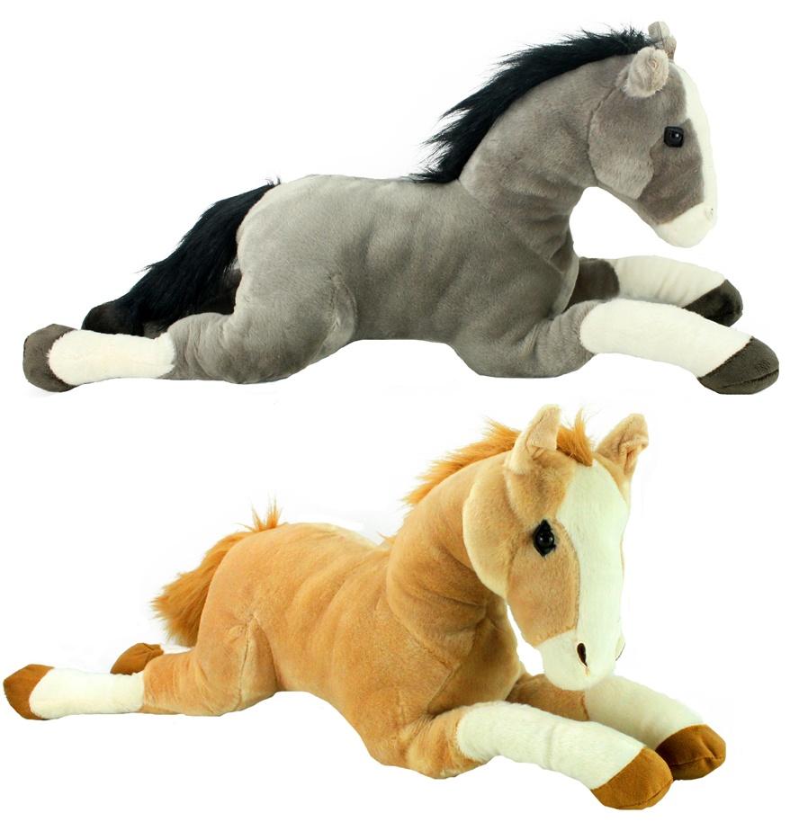 Pferd liegend 2-fach sortiert - ca 66 cm