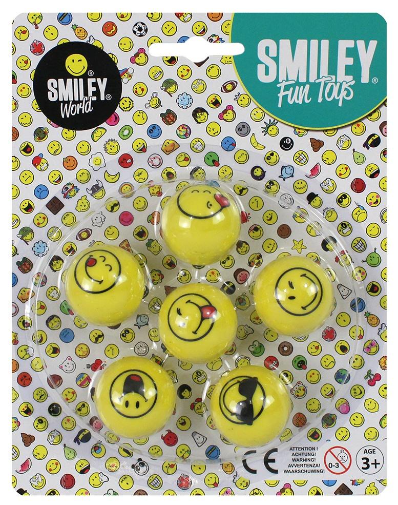 Smileyworld Flummi Dopsball 6-fach sortiert ca 3cm