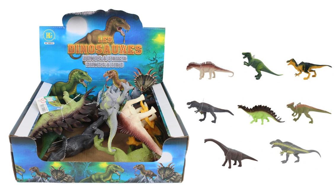 Dinosaurier 5 fach sortiert ca 15- 26 cm