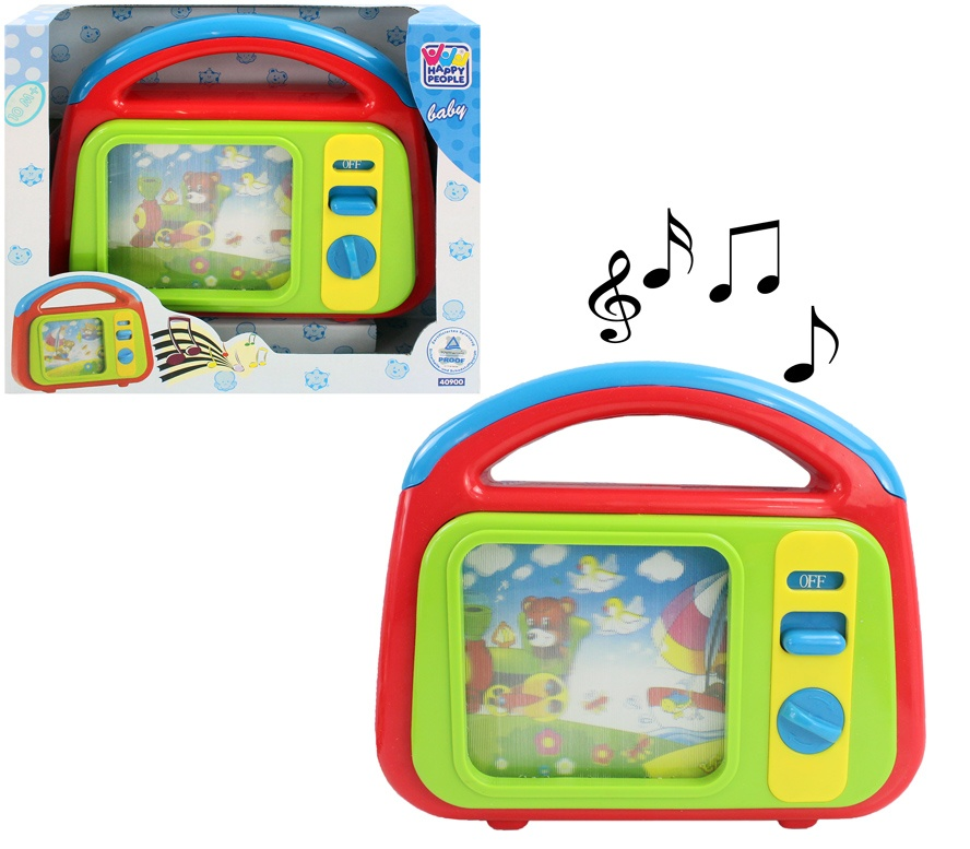 Happy People Musik-TV für Kinder - in Box ca 26,5x22,5x8cm