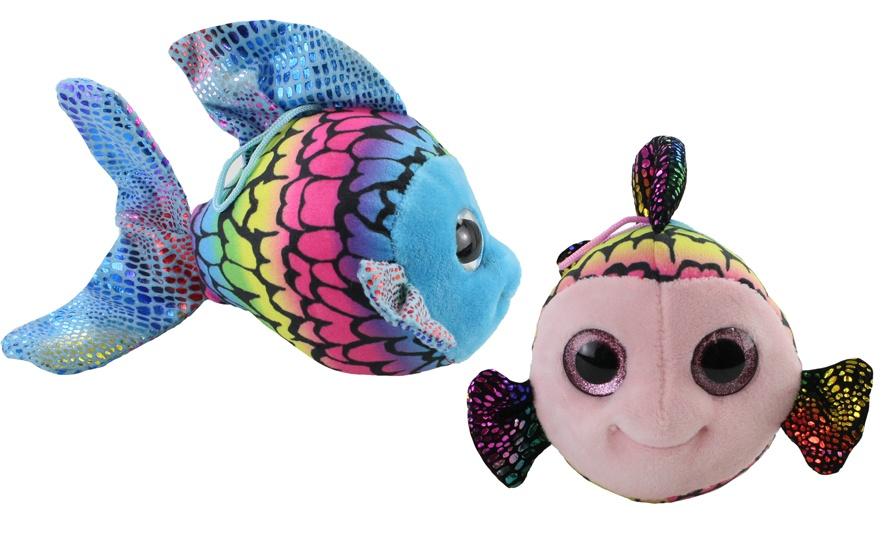 Fisch 2-fach sortiert mit gedruckten Schuppen ca 19 cm