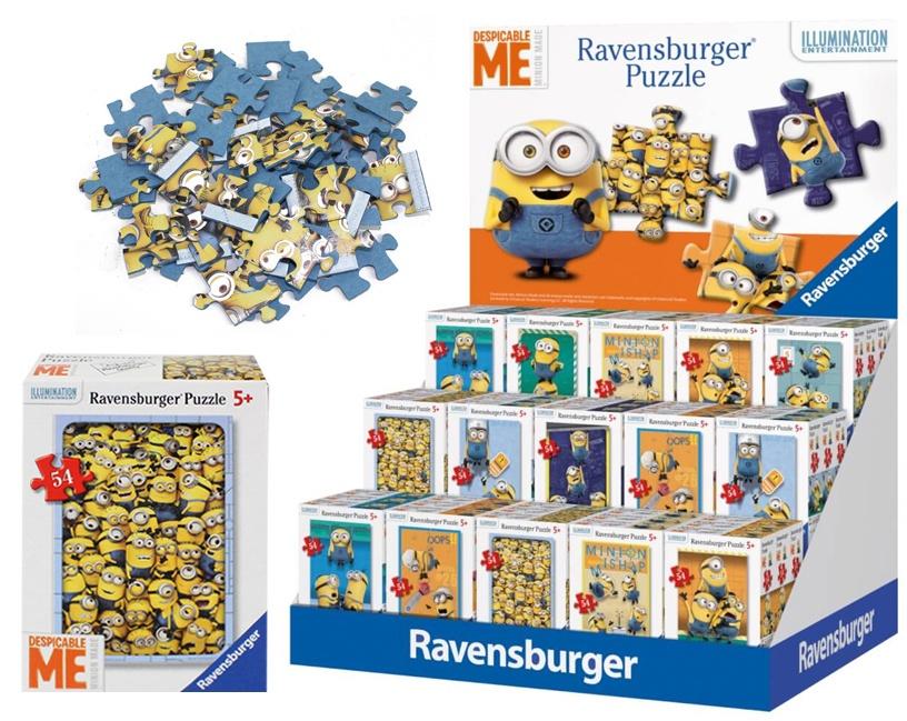 Ravensburger Mini-Puzzle Minions mehrfach sortiert 54 Teile