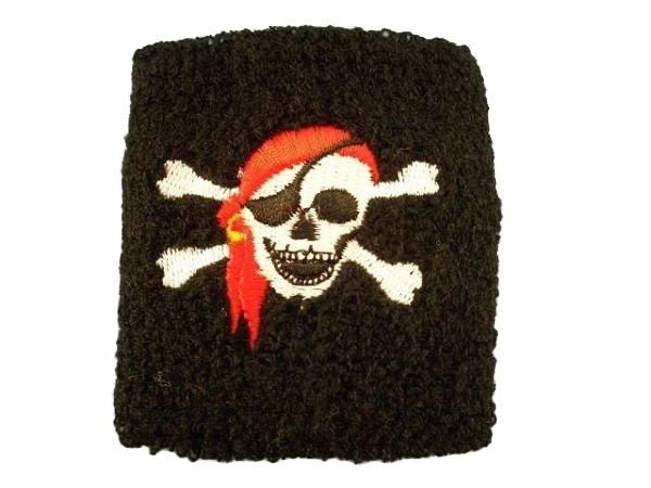 Piraten Schweißband ca 7 cm