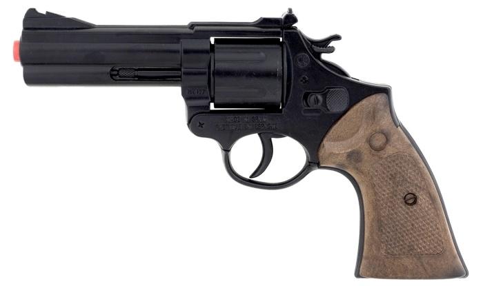 12-Schuss-Revolver Police