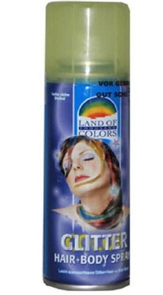 Glitter Spray  für Haar und Körper ca 125ml