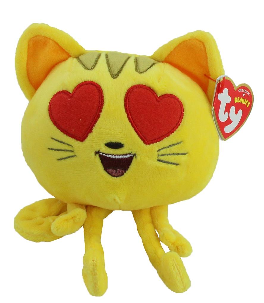 TY Carletto Emojis Katze ca 11/17 cm