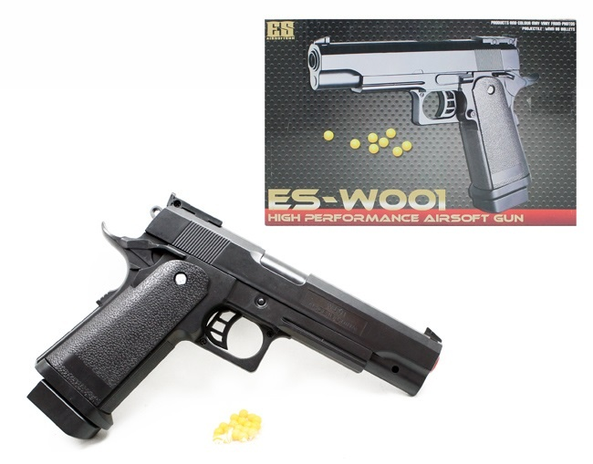 Kugelpistole ,schwere Ausführung, max 0,49Joule - ca 23 cm