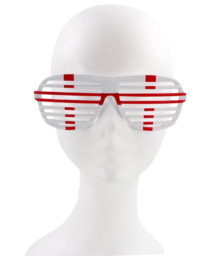 Atzenbrille WM Brille England ca 16 cm
