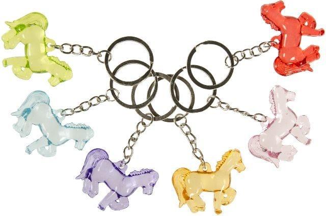 Pferd mehrfach sortiert an Schlüsselanhänger - ca 4cm