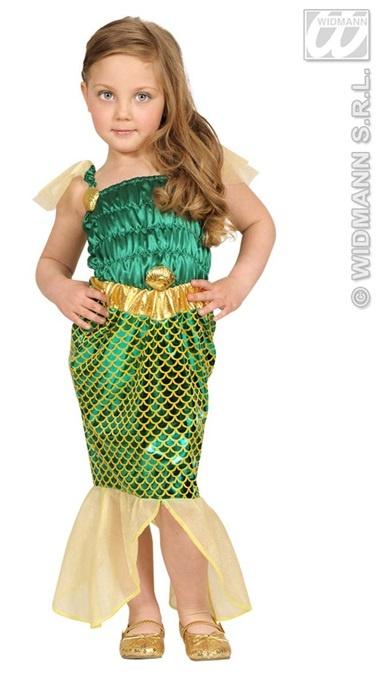 Kostüm - Kinderkostüm Meerjungfrau Körpergröße ca 104cm