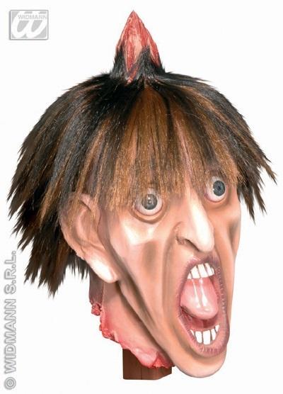 Kopf - Gruselkopf - Lebensgroß ca 36cm