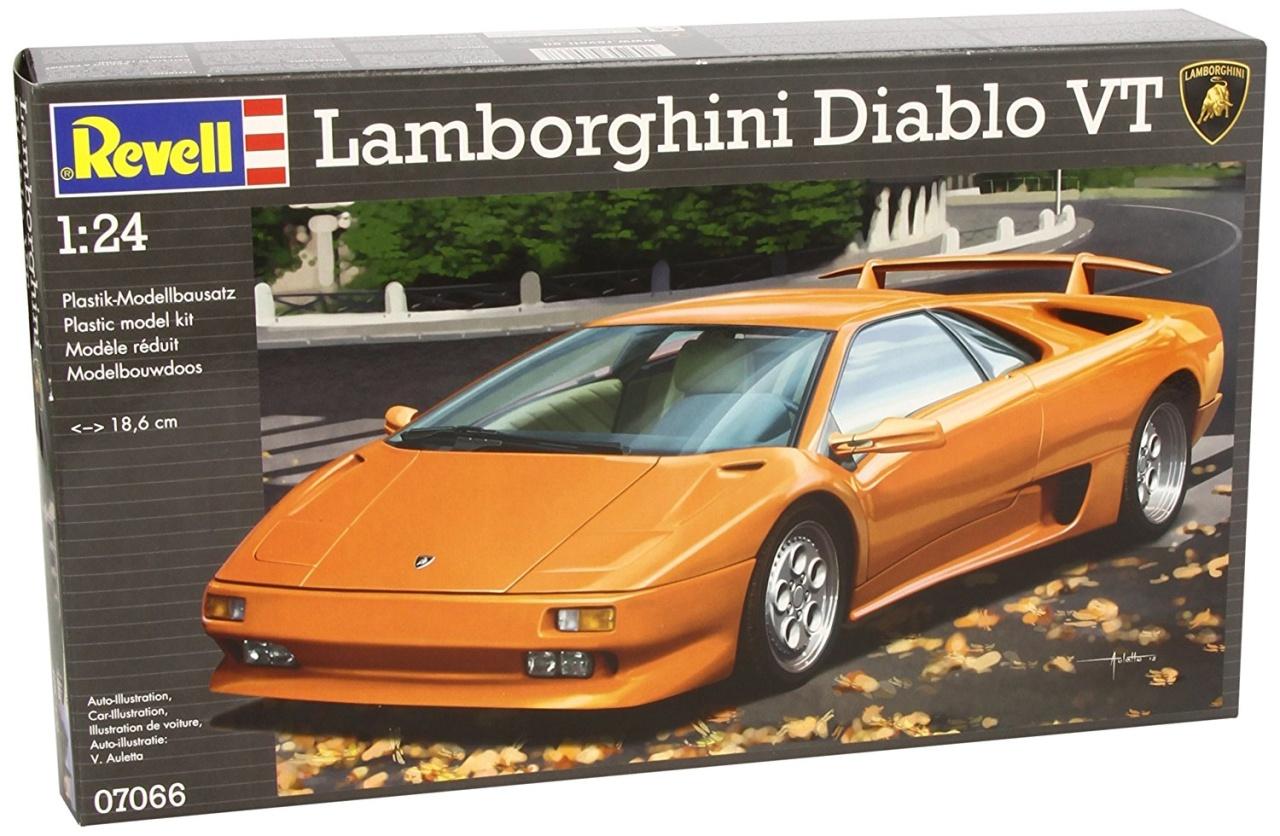 REVELL 07066 Lamborghini Diablo VT Modellbausatz 1:24