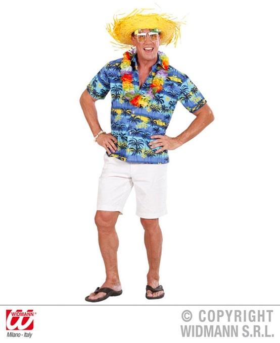 Hawaiihemd mit Palmen Größe XL