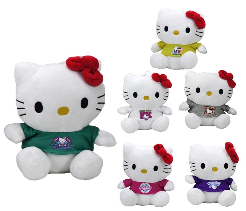 Hello Kitty 6-fach sortiert ca 25cm