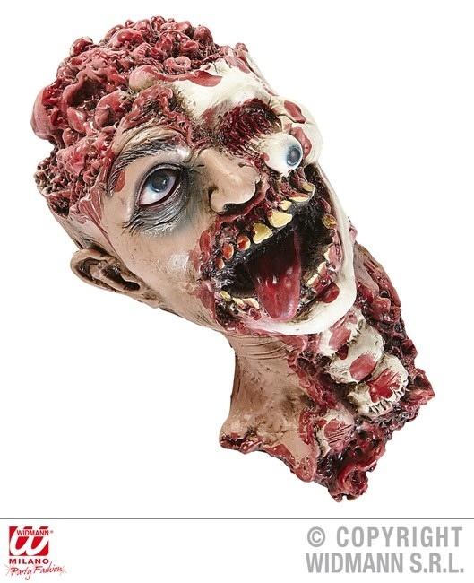 Kopf Gruselkopf mit Hals ca 32 cm