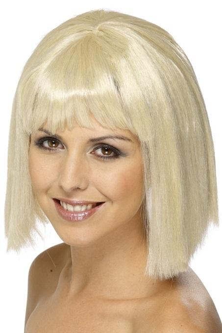 Perücke - Ponyfrisur blond