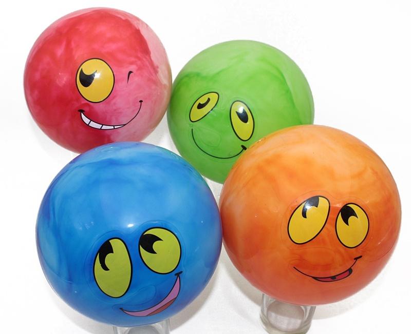 Grimassenball aufblasbar mehrfach sortiert  ca 20 cm
