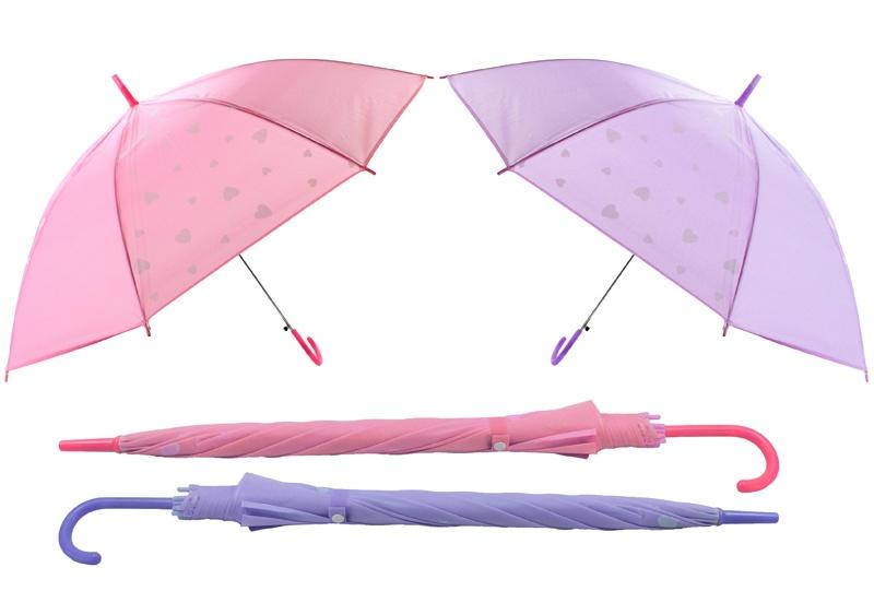 Regenschirm mit Herz 2 farbig sortiert ca 95 cm