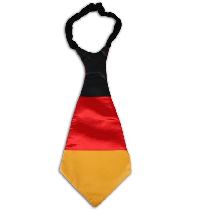 Krawatte in Deutschlandfarben ca 42 x 19 cm