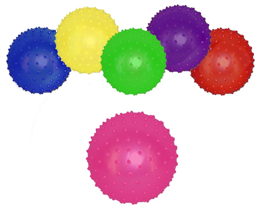Massageball -Stachelball -  aufblasbar ca 10 cm