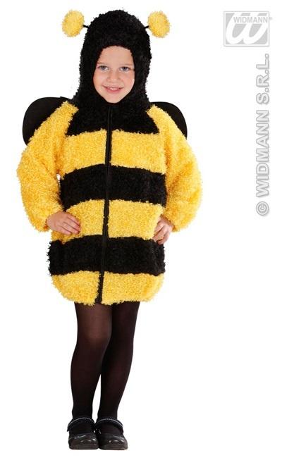 Kostüm - Biene für Kinder (Körpergröße ca 104cm)