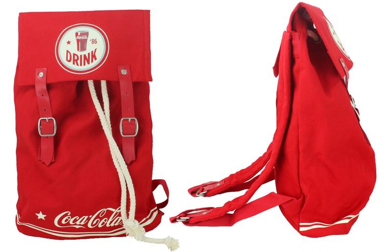 COKE AMERICANA Coca Cola Rucksack ca 40x30x10cm