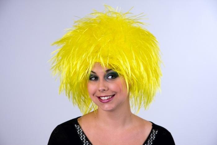 Perücke Nina, gelb