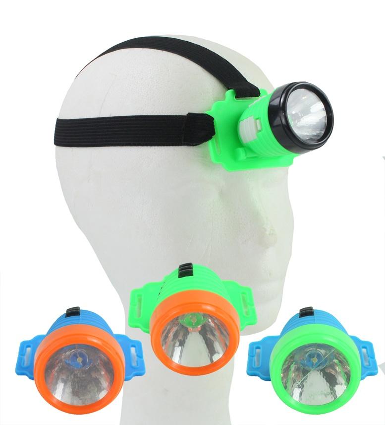 Stirnlampe Kopflampe für Kinder mehrfach sortiert ca 5,5x4cm