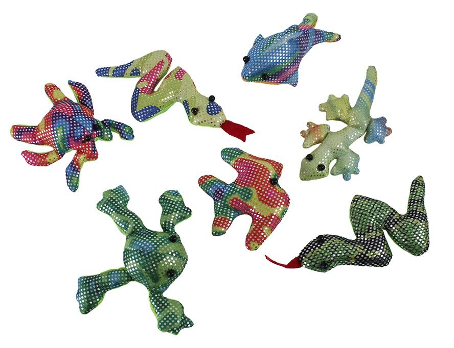 Sandtiere Tiere mit Sand gefüllt 6-fach sortiert ca 7-11cm