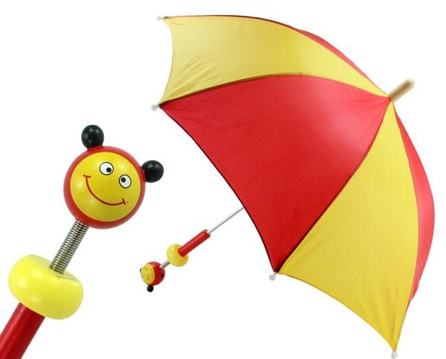 Kinder Regenschirm Marienkäfer von BELUGA - ca 70cm