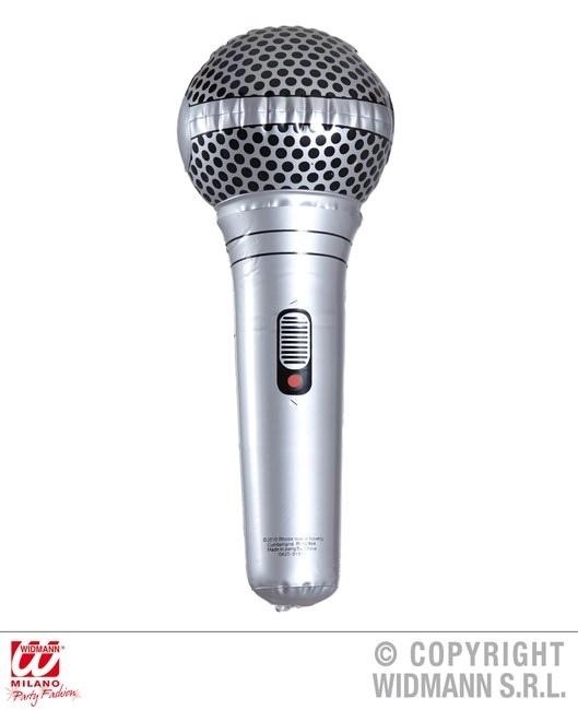 Mikrofon aufblasbar ca 25 cm