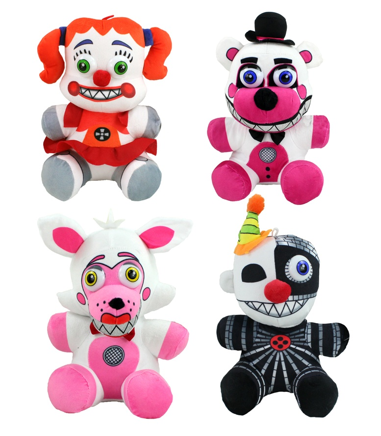 Five Nights at Freddys Sisters 4 fach sortiert ca 25-28 cm