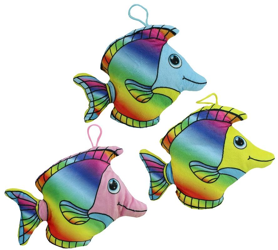 Plüsch Fisch Velvet 3-fach sortiert ca 15,5 cm