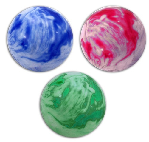 Ball Aufblasball marmoriert ca 10 cm