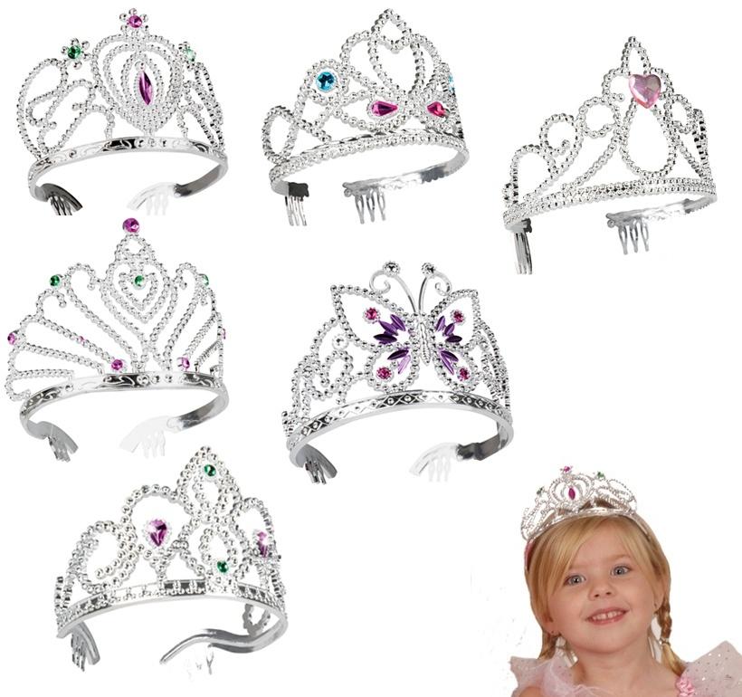 Krone Diana - 6 Formen sortiert
