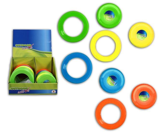 Frisbee Wurfringe und -scheiben 8-fach sort - ca 10-12cm