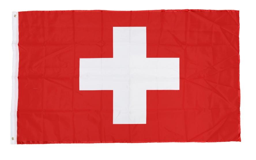 Fahne - Schweiz ca 90x150 cm