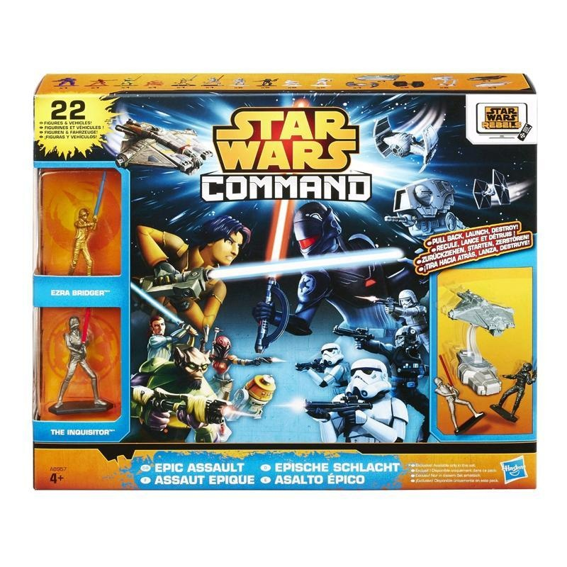 HASBRO Star Wars Command Epic Assault Pack