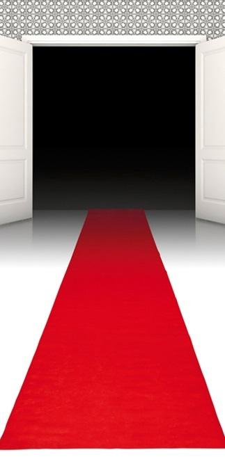 Teppich rot ca 450x60cm