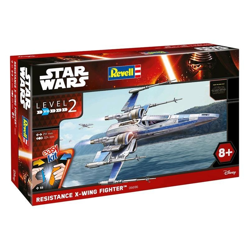 REVELL Bausatz Star Wars Item D Resistance X Wing Fighter