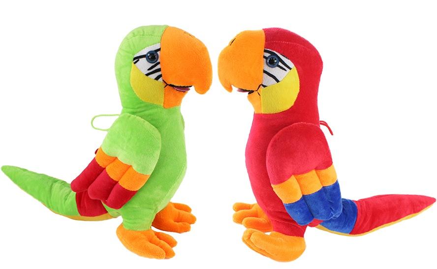 Papagei 2-fach sortiert ca 32 cm