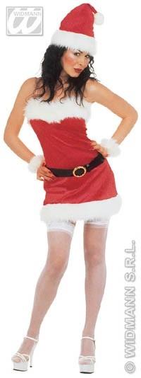 Kostüm - Miss Santa Flanell Größe M