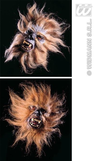 Maske - Halbmaske wütender Affe 2-fach sort