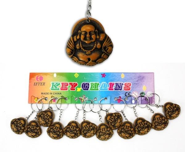 Buddha an Schlüsselanhänger - ca 3,5cm